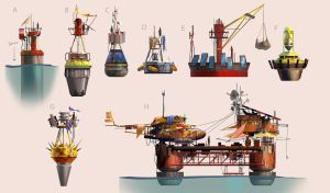 Junk Buoy Thumbnails by MeckanicalMind