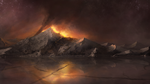 Village Fire Concept by CraigSoulsby