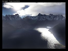 terragen - hope mountains by tigaer