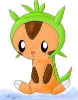 Chespin by NeverWastedTime