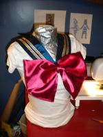 WIP Super Sailor Moon by SailorCrafty26