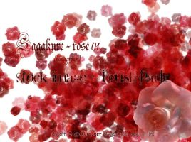 Rose 01 - Stock pack + brushes by Sagakure