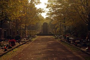 One day on a German cemetary by Balopp