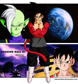 Black Saga DBGT by HelvecioBNF