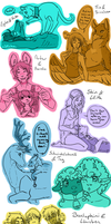 You And Me_Scribbles by Eelea