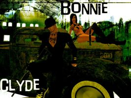 Boonie an Clyde by DigitalError