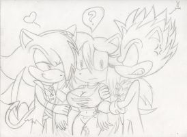 Love Triangle by sonicxmelissa302