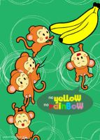 monkeys like yellow by yehachan