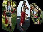 Cosplay: Dissidia Tifa 2 by Risachantag
