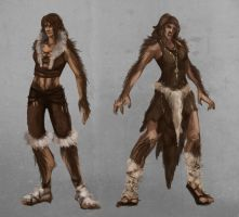 Female Werewolfes by HennaL