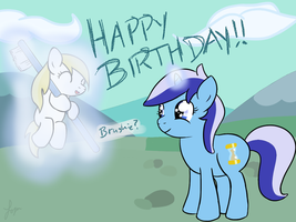 Happy Birthday to Dash! by DoctorPiper