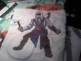 X-stitch Connor by Anne-Butterfly