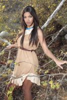 High Fashion Pocahontas by xAleux