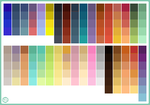 Color Palette of 2010 by halftrain