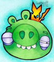 Beat Up King Pig by PennySamson