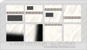 IconTextures100x100_minipapers by icyrosedesign