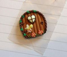 little fairy door and fairy by Stefimoose