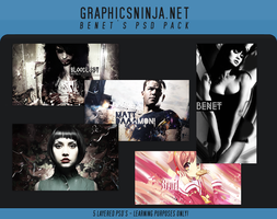Signature PSD Pack 1 by BenetGN