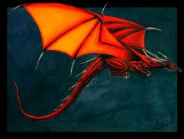 Red Dragon by alwaysandcontinuousl