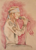 Axl for Dragodelbuio by SweetChile