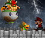 Super Mario World Final Battle by RosalinaSama