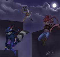 Co Rooftop jumping by Saoswife