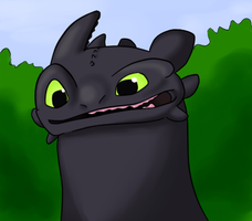 Toothless by N-suprem
