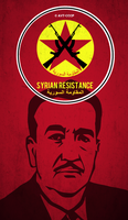 Syrian Resistance poster by Avt-Cccp