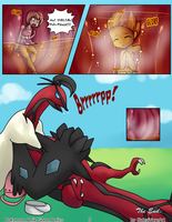 Pokemon Amie Gone Amiss Page 5 by GokaiVoreArt