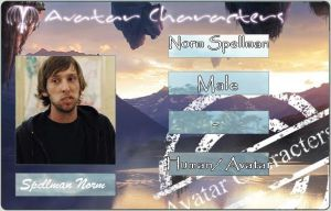 Norm Spellman ID card 2 by HileyCaine