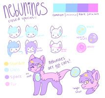 nebunine species ref by Ieopards