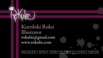 2011 Business Card WIP by rokulie