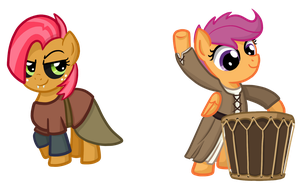 Skyrim Ponies by TheCheeseburger