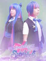 Stocking Boy and Stocking by in-ciel