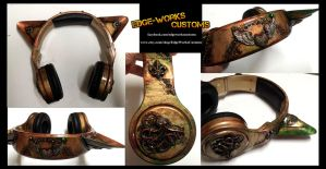 Steamcat 2 Headphones by Edge-Works