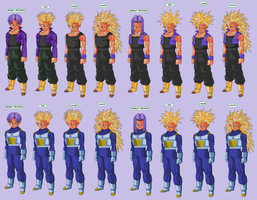 mirai trunks hair base by Naruttebayo67