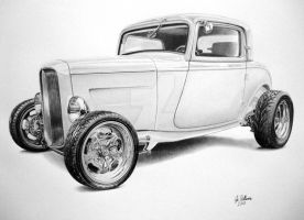 32 Ford Hot Rod by industrialrevelation