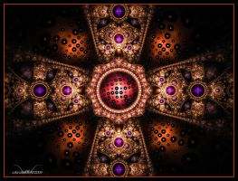 Encrusted Gold by SuicideBySafetyPin