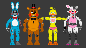 Withered toy animatronics by hookls
