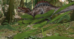 MMD Newcomer Spinosarus + DL by Valforwing