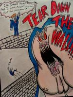 Donald Trump and his Wall by CoyChimera