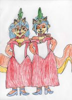 Mother And Daughter Can Both Cancan by trexking45