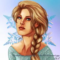 Elsa, queen of Arendelle by Nike-93