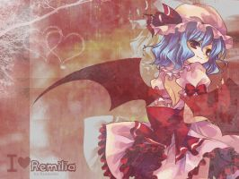 REQUEST - I love Remilia. by Ruuneka
