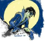 zombie Nightwing by mothbot
