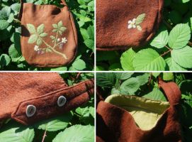 Blackberry Forest Purse by Lolair