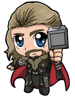 Thor by Nickyparsonavenger