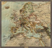 Europe in 1600 by JaySimons