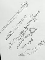 A Set of Weapons by AceOfKeys72
