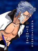 Coloured Grimmjow.. by kingvegito